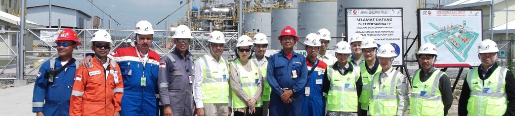 Gundih CPP and Jepon-1 Well Site Visit