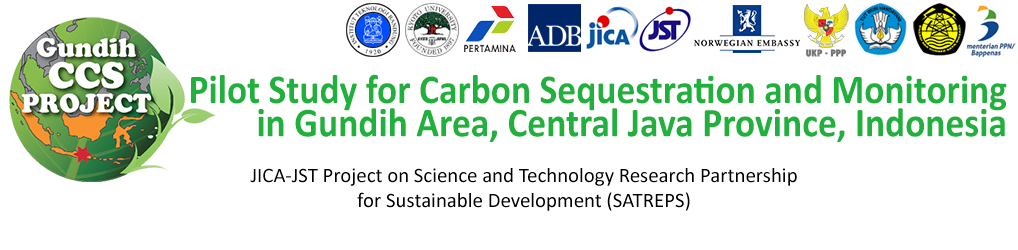 Pilot Study for Carbon Sequestration and Monitoring in Gundih Area, Central Java Province, Indonesia